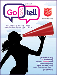 Go and Tell 2015 Promotional Material