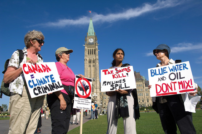 Greenwashing and the Oil Sands