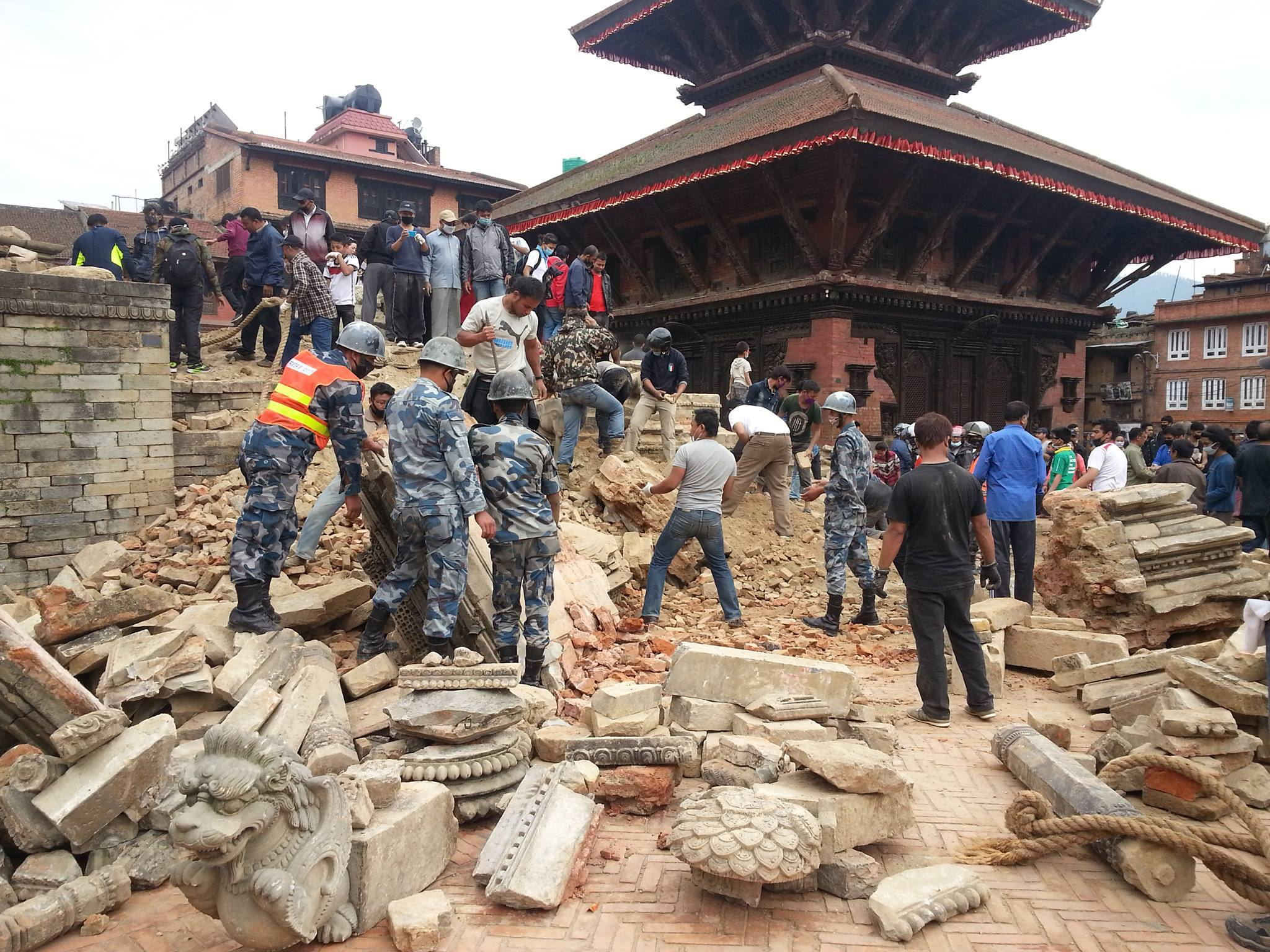 The Salvation Army in Nepal Distributes Food to Mountain Communities
